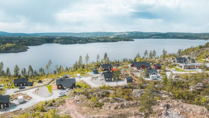 Setten Hyttepark, hvor Klaro renseanlegg Norge AS har lever kloakkrenseanlegg for hyttefelt